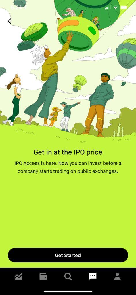 Robinhood IPO Investing