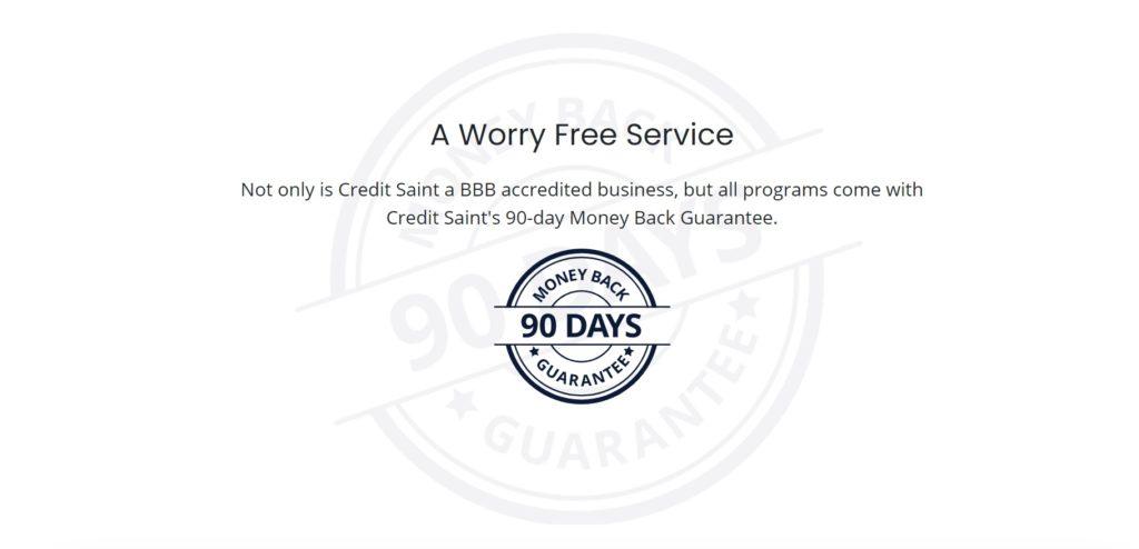 credit saint worry free