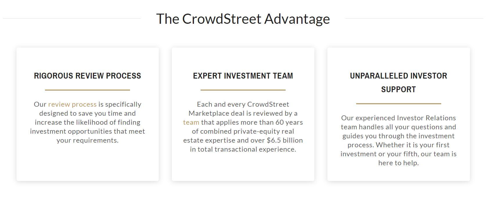 crowdstreet advantage