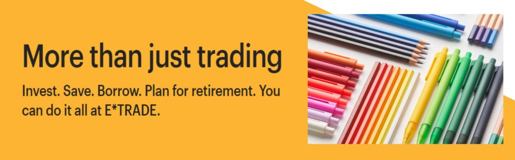etrade more then just trading