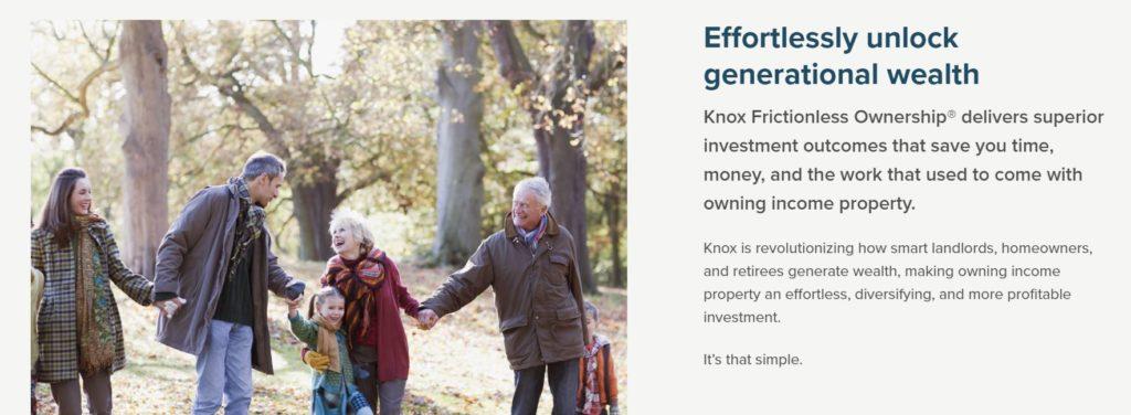 knox financial generational wealth