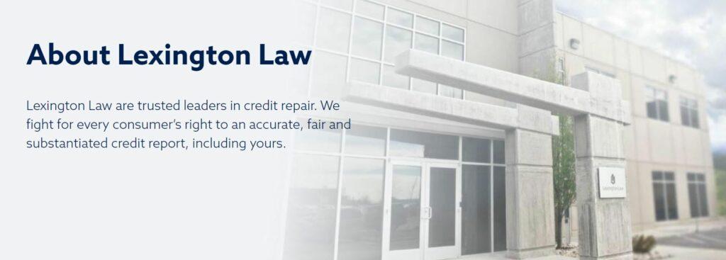 lexington law about