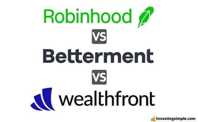 robinhood vs betterment vs wealthfront featured image