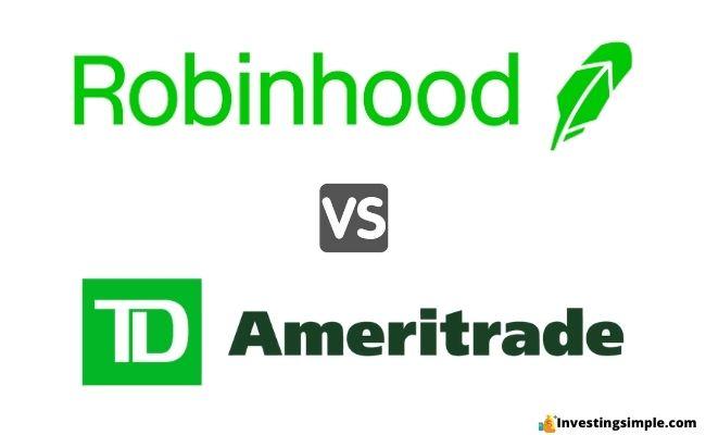 robinhood vs td featured image