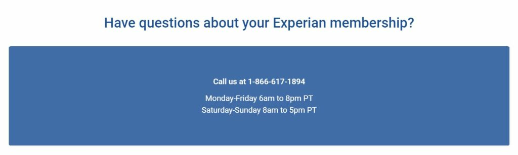 experian contact us